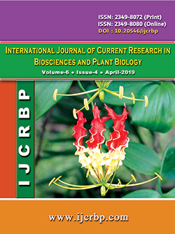 International Journal of Current Research in Biosciences and